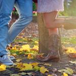 秋のカップル